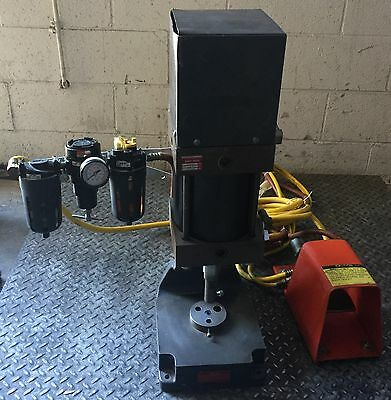 Benchtop Pneumatic Punch Press W Foot Petal Industrial