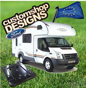 ford transit camping car van am nag si ge double base pivotante lhd europ en ebay. Black Bedroom Furniture Sets. Home Design Ideas