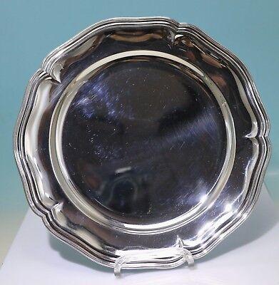Platzteller 800er Silber Barockdekor ZENDRINI, Torino, Roma Ø 25 cm - 17317 -