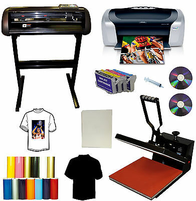 15x15 Heat Press24 1000g All Metal Cutter Plotterprintercartridgespu Vinyl
