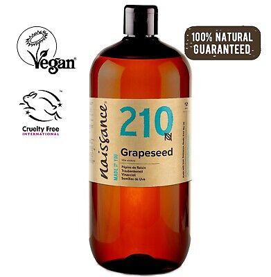 Naissance Traubenkernöl - 1 Liter (1000ml 1 L) - Massageöl