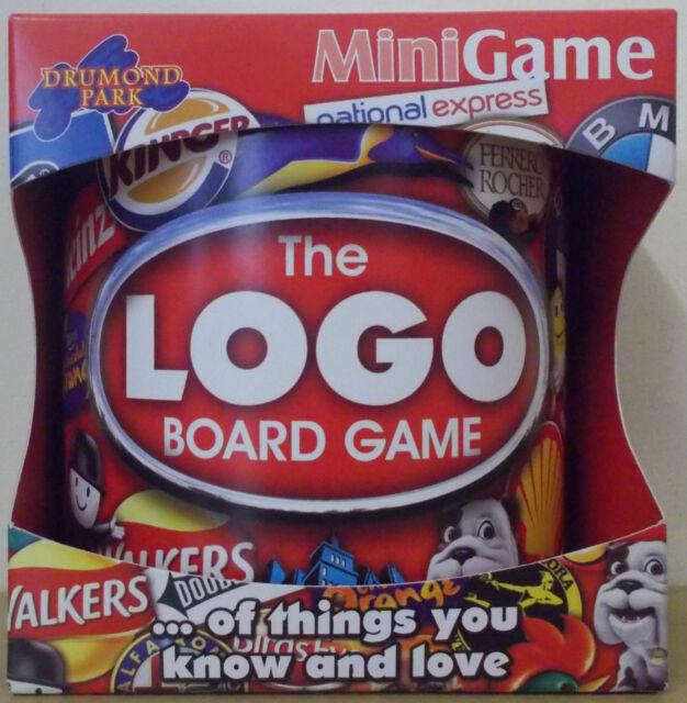 Logo Board Game ~ Mini Game Travel Size ~ Drumond Park