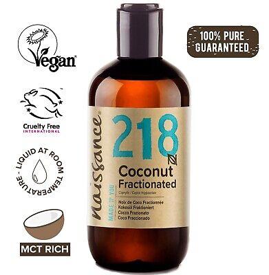 Naissance Kokosöl fraktioniert - 250ml - Trägeröl für Haut und Haare flüssig