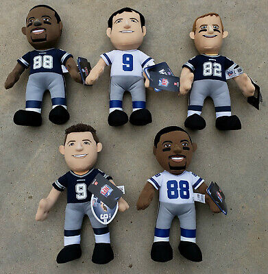 DALLAS COWBOYS STUFFED PLAYERS- 5 DIFFERENT - Dallas Cowboys Uniforms
