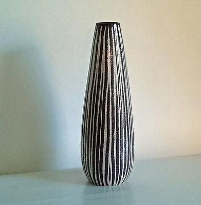 50er 60er Jahre Beauty Keramikvase Relief Dekor____________nice 50s 60s ceramics