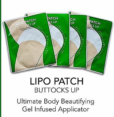 Ultimate Buttocks Up Enhancement Body Wraps It Works To Firm Tone Slim 4 Pairs