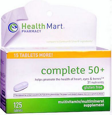 HM Senior Vitamins COMPLETE 50+ Multivitamin / Mineral 125 tablets ***