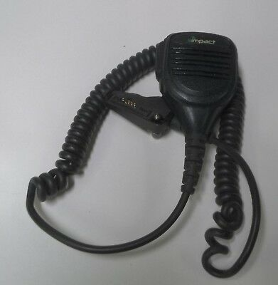 Impact Platinum Shoulder Microphone For Kenwood Tk Nx Nexedge Radios K2-prsm-hd3