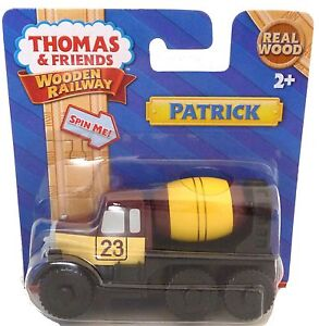 PATRICK-Cement-Mixer-Thomas-Tank-Engine-Wooden-Railway-NEW-IN-BOX