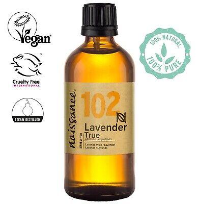 Aceite Esencial de Lavanda - 100ml vegano y no OGM
