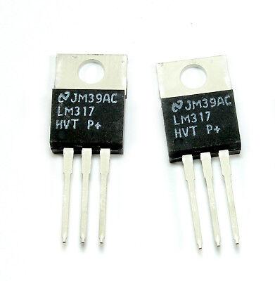 4pcs Lm317 Hvt Adjustable Linear Voltage Regulator 1.5a 1.2 To 57v Bi-polar