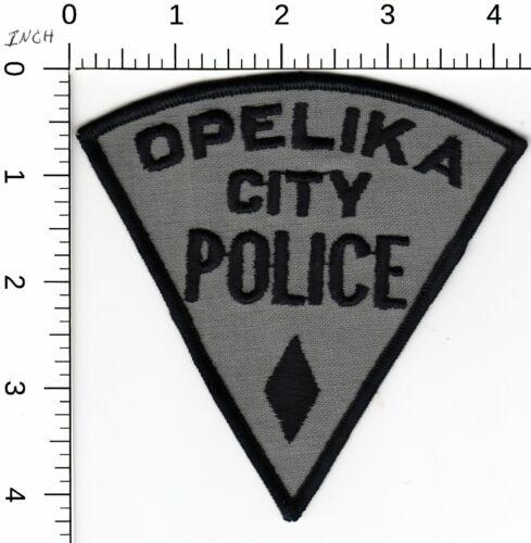 OPELIKA CITY POLICE (OLDER) ALABAMA AL PIE SHAPE SHOULDER PATCH