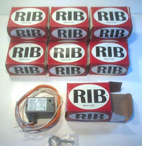 NEW FUNCTIONAL DEVICES RIB RIBL24B MECHANICAL LATCHING RELAY 24V AC/DC