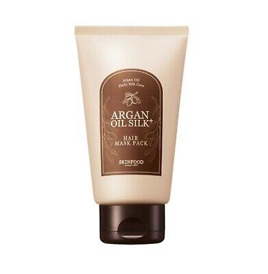 [SKINFOOD] NEW Argan Oil Silk Plus Hair Maskpack 200g - Korea Cosmetic