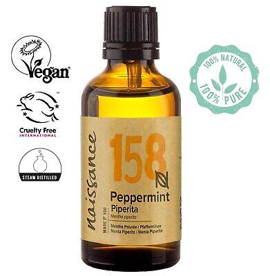 Olio di Menta Piperita - Olio Essenziale Puro al 100% - 50ml Olio Aromaterapia
