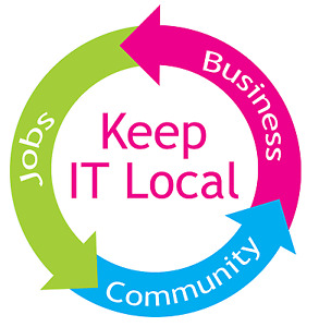 BUY LOCAL AND SUPPORT LOCAL BUSINESS