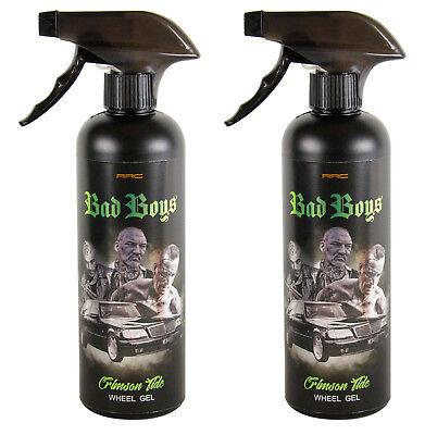 Tide Bad Set (2x RR Customs Bad Boys Crimson Tide Wheel Gel Felgenreiniger Reiniger 500 ml)