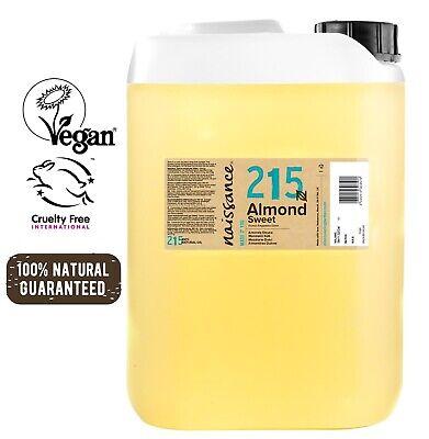 Naissace Aceite de Almendras Dulces 5L - Hidrata el cabello y todo el cuerpo