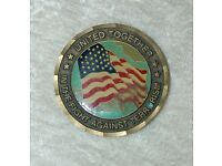 Never Forget #7 Silver Shield Pentagon 999 AG 1 oz 2018 Missing Trillions BU