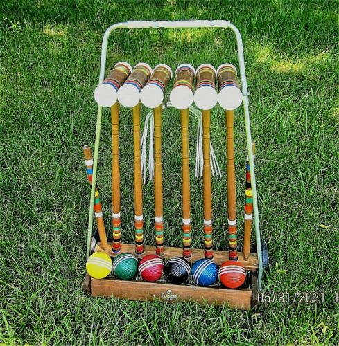 FORESTER Croquet Set - up to 6 players