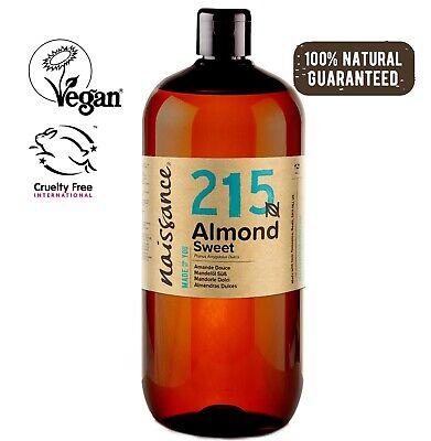 Naissace Aceite de Almendras Dulces 1L - Hidrata el cabello y todo...