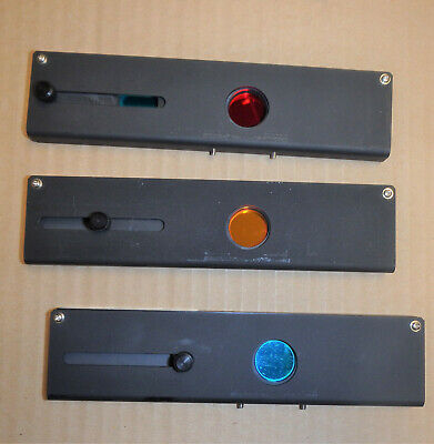 Leitz Microscope Dichroic Filter Sliders - See Subject Description Area