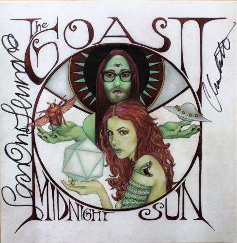 SEAN LENNON (John's son)+Charolette signed GOASTT Midnight Sun Vinyl Record