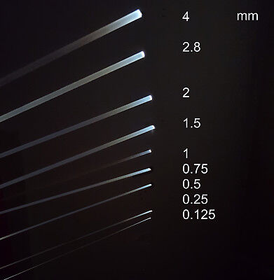 Fiber Optic Cable 0.125 / 0.25 / 0.5 / 0.75 / 1 / 1.5 /2/ 2.8/ 4mm Silica Core