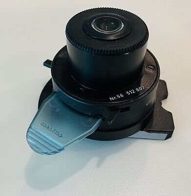 Leitz 56 Microscope A0.9 Condenser 512807 With Slide Diffuser Fits Laborlux