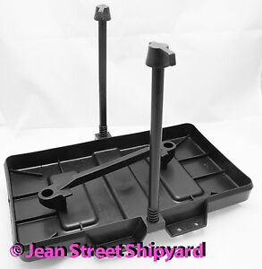 Marine Boat Battery Hold Down Tray Nylon Non-Corroding Group 27 / 31 Adjustable