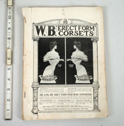 April 1903 The Delineator Fashion Style Magazine Corset Advertising Victorian