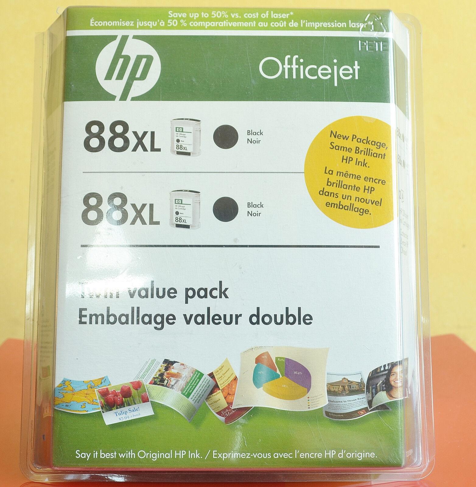 Printer ink toner paper printers scanners supplies genuine hp 88xl ink double pack black expired twin value pack fandeluxe Gallery