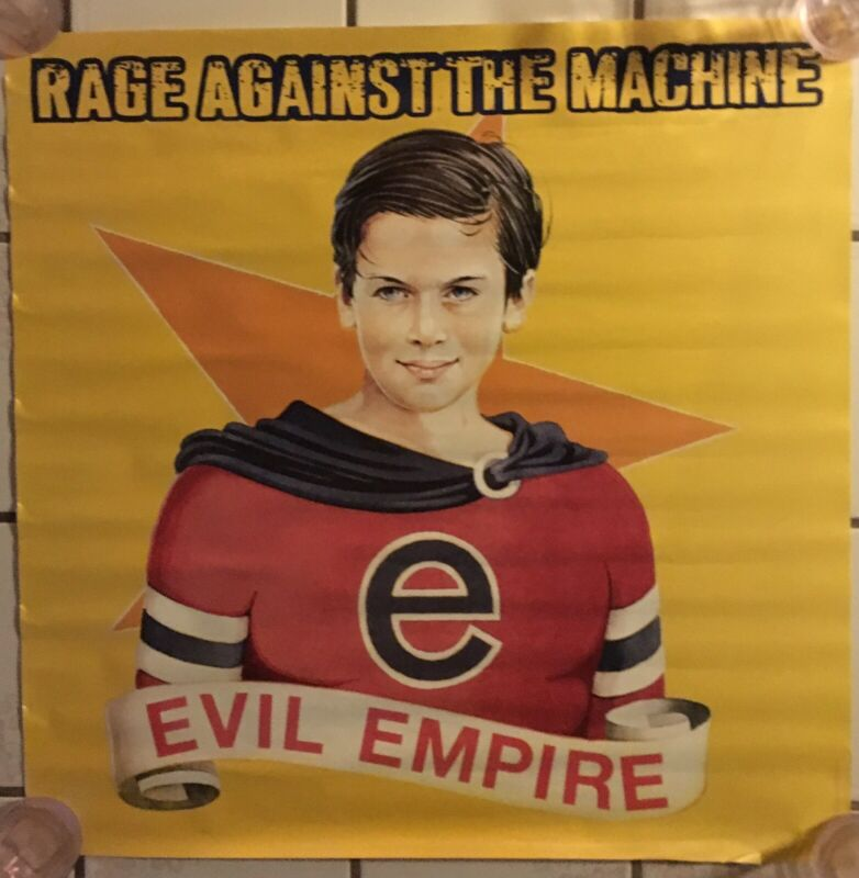 "Rage Against The Machine RATM Evil Empire Original US Promo Poster 24"" X 24"""