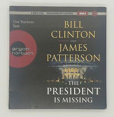 James Patterson und Bill Clinton - The President is Missing - 2 MP-CDs online kaufen