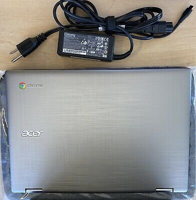 ACER CHROMEBOOK SPIN 11 CONVERTIBLE TOUCHSCREEN LAPTOP/TABLET WITH PEN & CHARGER