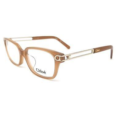 CHLOE Eyeglasses CE2684A 248 Light Brown Rectangle Women 52x15x135