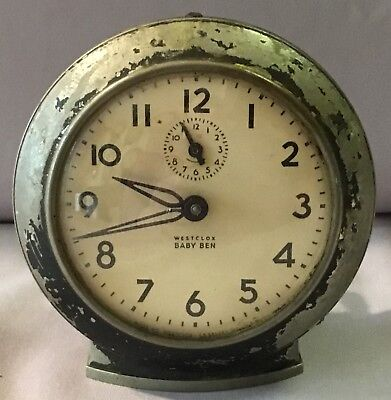 Westclox Baby Ben Alarm Clock - Style 6 - 1949 for sale  Troy