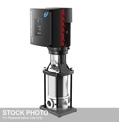 Grundfos 2-stage 2 Cre 10-1b-gj-a-e-hqqe Inline Ansi Booster Pump Wvfd Mot...