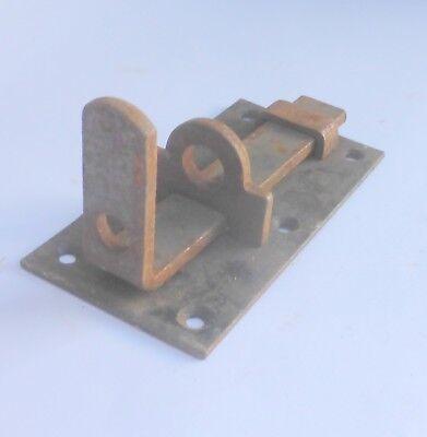 antik alter Beschlag Riegel ✨ Schieberiegel Tür Verriegelung Eisenriegel rostig,