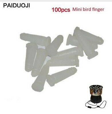100 Pcs Poultry Feather Plucking Remover Tool Chicken Plucker Finger