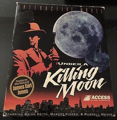 Under a Killing Moon Tex Murphy Big Box  Classic PC CD ROM complete