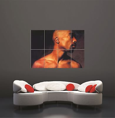 2Pac Tupac Shakur Hip Hop Rapper Giant Wall Art Print Picture Poster