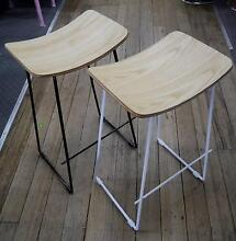 New Replica Yvonne Potter Y Design Metal Wire Timber Bar Stools Melbourne CBD Melbourne City Preview