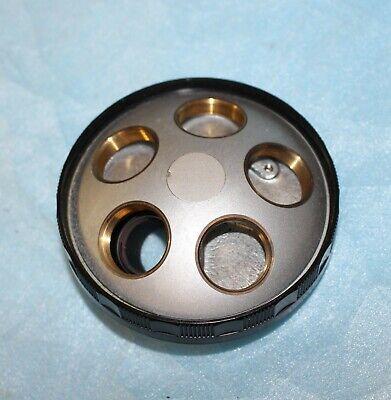 Nikon Diaphot Inverted Tissue Culture Microscope Turret Noisepeice 5 Place