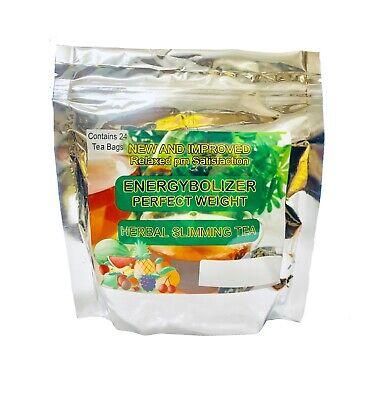 Energybolizer Perfect Weight Herbal Slimming Tea (24 Bags) APPLE & MANGO