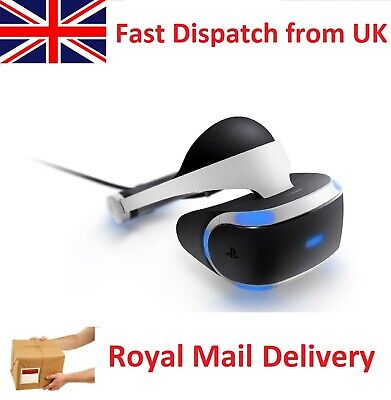 Sony Playstation VR PSVR PS4 v2 Virtual Reality Console Headset CUH ZVR2 w Proc.