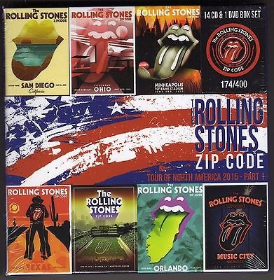 ROLLING STONES  - -  Zip Code Tour -    14 CD's + 1 DVD's   Box for sale  Shipping to Canada