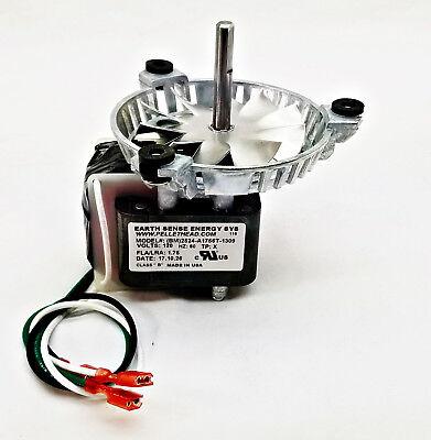 Quadrafire 1000 Exhaust Combustion Motor Blower Fan - 812-0051, AMP-UNIVCOMB for sale  Dale