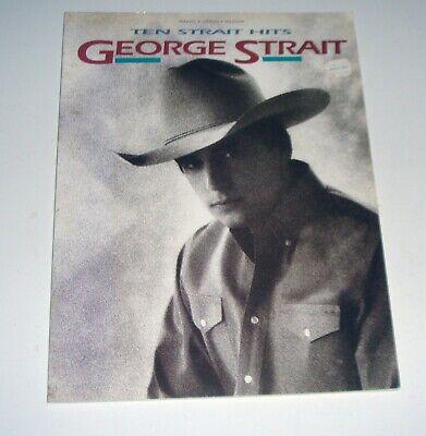 4da330a777f47f Original 1992 George Strait Ten Strait Hits 48 pages Free Shipping