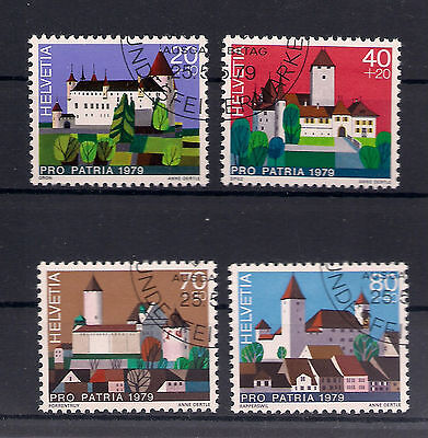 Schweiz - 1979 - Mi. Nr. 1156-1159 - Gestempelt
